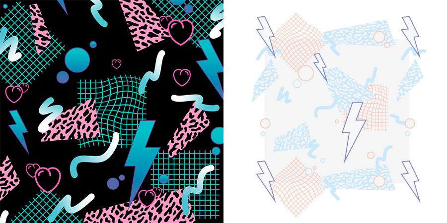 Memphis colour tests by julia alison