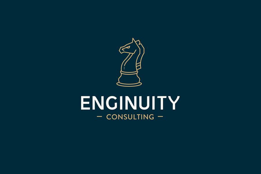 Enginuity logo by julia alison
