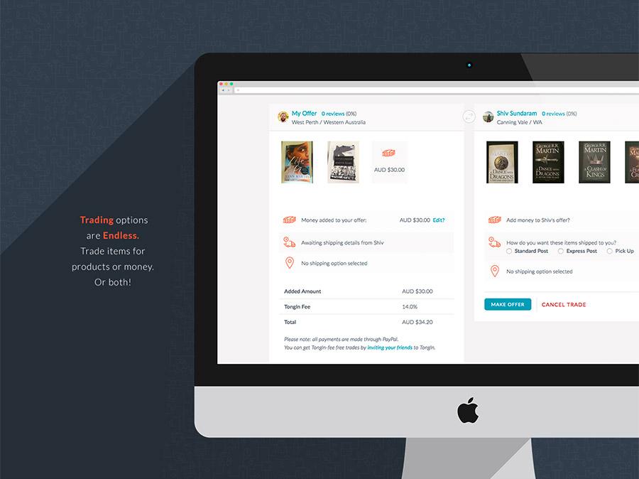 web app design by julia alison