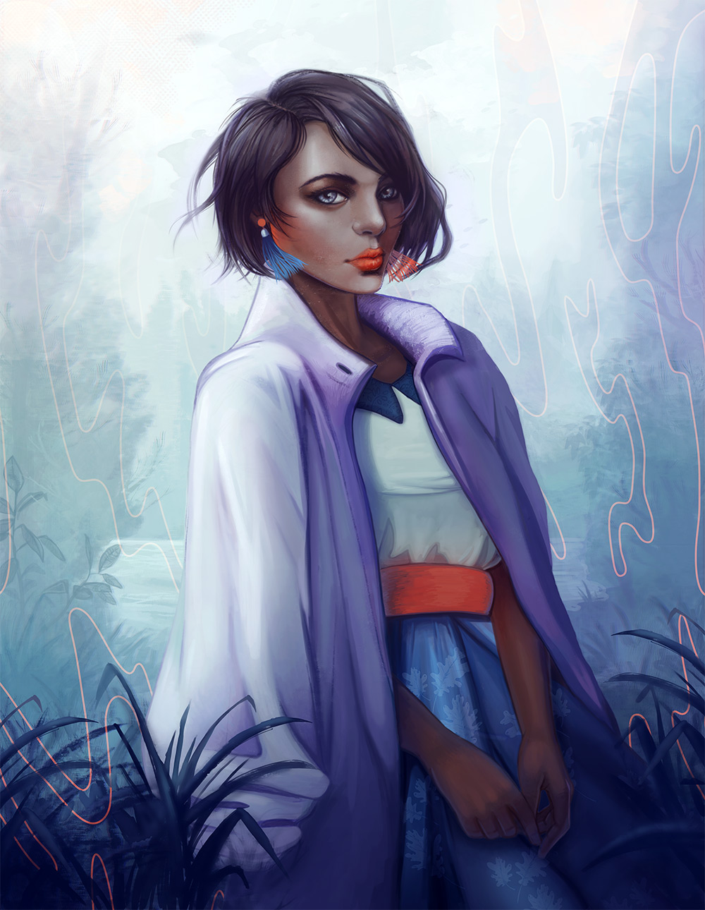 blue fashion by julia alison